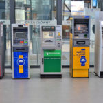 Free standing ATM machines